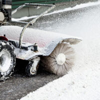 Commercial snow & ice removal
